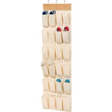 Honey Can Do® – Range-chaussures à suspendre sur une porte, 24 poches