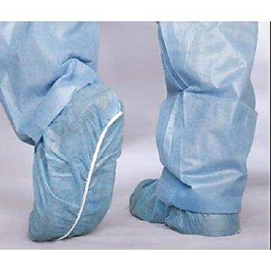 Medline Boundary Men Boundary Shoe Covers, Blue (CRI20)