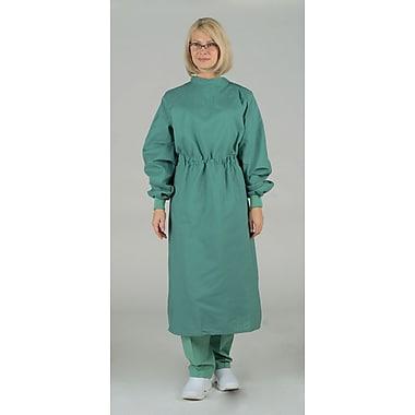 Medline Unisex Tunnel Belt Surgeons Gown, Jade Green (606MJS)