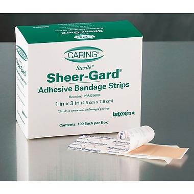 Caring® Adhesive Bandages, Natural