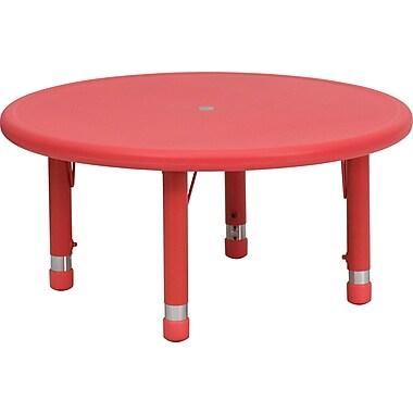 Flash Furniture 14 1/2'' - 23 3/4'' H x 33