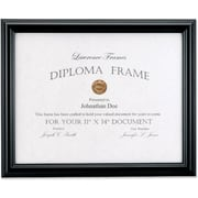 Lawrence Frames Images Collection Manufactured Wood Document Frame (1850)
