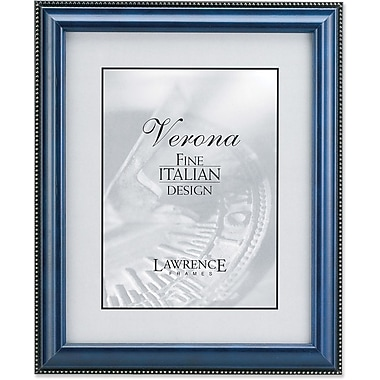 Lawrence Frames Verona Collection Wooden Blue Picture Frame with Bead (1990)