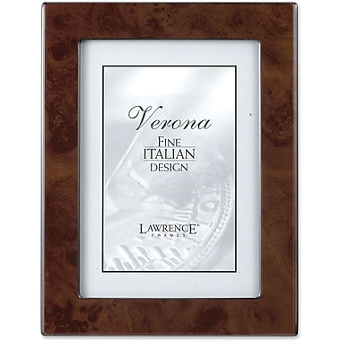 Lawrence Frames Verona Collection Wooden Walnut Picture Frame (6201)