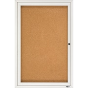 Quartet® - Tableaux d'affichage en liège à cadre fermé, cadre en aluminium