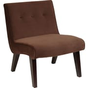 Office Star Ave Six Curves Valencia Velvet Armless Chair (VAL51N)