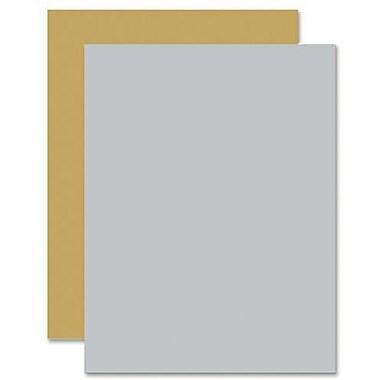 Hilroy – Carton bristol de couleur métallique, 22 x 28 po