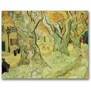 "Trademark Global Vincent Van Gogh ""The Road Menders, 1889"" Canvas Arts"