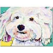 """Trademark Global Pat Saunders White """"Buttons"""" Canvas Arts"""