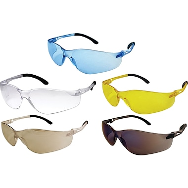 Dentec Sentinel safety glasses with rubberized temple tips