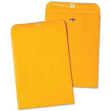naturesaver® Clasp Recycled Envelope, Kraft, 100/Box - Gummed