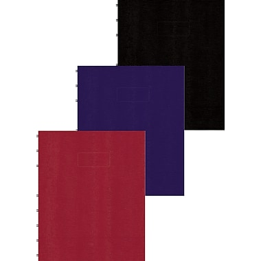 Blueline® - Cahier MiracleBind à couverture rigide, 9-1/4 po x 7-1/4 po, genre lézard, 150 pages
