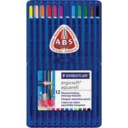 Staedtler – Crayons à aquarelle Ergosoft, couleurs variées