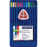 Staedtler Ergosoft Coloured Pencils, Assorted Colours