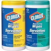 Lingettes Clorox nettoyantes désinfectantes