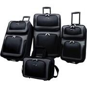 U.S.® Traveler US6300 New Yorker 4-Piece Luggage Sets