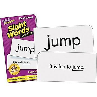 Trend Enterprises® Grades 1st - 3rd Sight Words Skill Drill Flash Cards