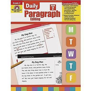 Evan-Moor Daily Paragraph Editing Book
