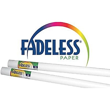 Pacon® Fadeless® White Paper Rolls