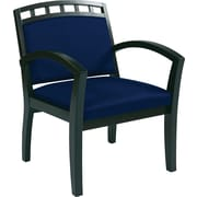 Office Star WorkSmart™ Fabric Deluxe Espresso Finish Guest Chairs