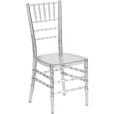 Flash Furniture Elegance Crystal Ice Stacking Chiavari Chair