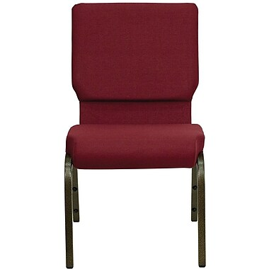 Flash Furniture HERCULES™ 40/Pack Fabric Stacking Church Chairs With 4 1/4