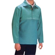 Anchor Brand® Visual Green Cotton Sateen Bib With Hook and Loop Closure