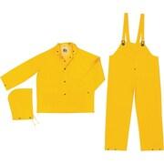 River City 2003 Classic 3-Piece Flame Resistant Rainsuits, Yellow