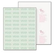 """Paris DocuGard® 8 1/2"""" x 11"""" 24 lbs. Standard Security Business Bottom Check Papers, 500/Ream"""