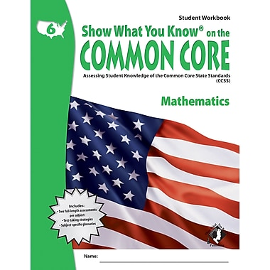 Milliken & Lorenz Educational Press Common Core Show What You Know Reading Maths Workbook