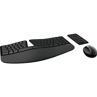 Microsoft® – Ensembles claviers et souris Sculpt ergonomiques