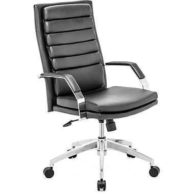 Zuo® Director Comfort Leatherette High Back Office Chair