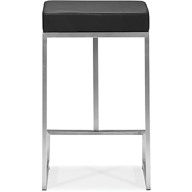 Zuo® Plush Leatherette Darwen Counter Chairs