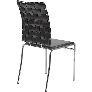 Euro Style™ Carina Leather Dining Side Chairs