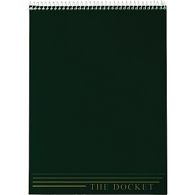 TOPS® Docket® Writing Tablet, Legal Ruled, 8 1/2
