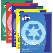 Hilroy - Cahier d'exercices 9 1/8 po x 7 1/8 po