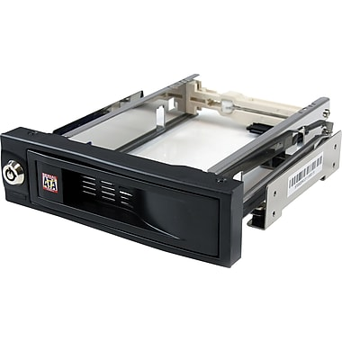 StarTech® 5.25in Trayless Hot Swap Mobile Rack for 3.5in Hard Drive