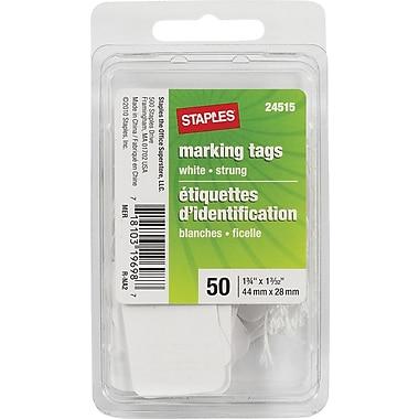 Staples® - Étiquettes pour vente au détail avec ficelle
