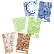 Geo 100% Recycled & Recyclable Notebook, 40 Pages