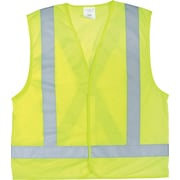 CSA-Compliant Yellow Traffic Vest, 6 per Pack