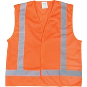 CSA-Compliant Orange Traffic Vest, 6/Pack