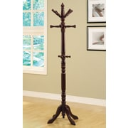 Monarch Traditional Solid Wood Coat Rack