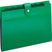 7 Pocket Poly File, Open Top, Letter Size