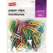 Staples® #1 Paperclip 100 PK