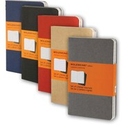 "Moleskine® Cahier Pocket Ruled Journal, 3 - 1/2"" x 5 - 1/2"""
