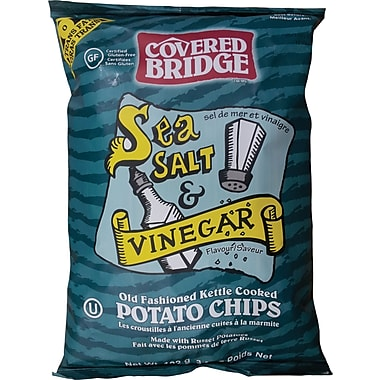 Covered Bridge – Croustilles au sel de mer