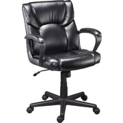 Staples® Montessa II™ Luxura® Managers Chair, Black or Brown