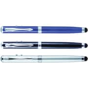 Monteverde® 4-in-1 Multifunction Laser/Stylus/Flashlight/Ballpoint Pen, Medium Point, Assorted Barrel Colors, Each