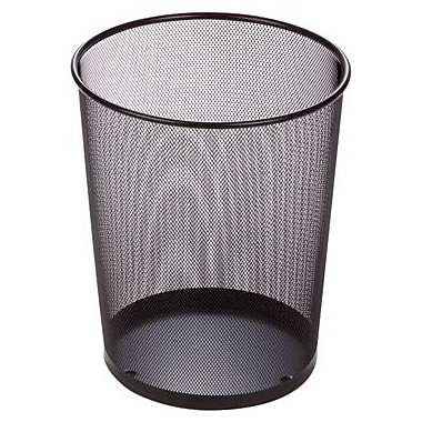Honey Can Do Steel Mesh Waste Baskets, 4.75 Gallon