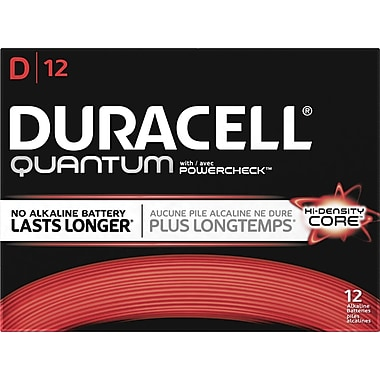 Duracell® Quantum Alkaline D Batteries